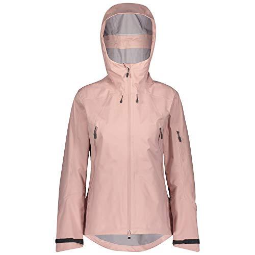 Scott Explorair 3L Jacket Pink, Damen DermizaxTM Regenjacke, Größe XS - Farbe Pale Purple