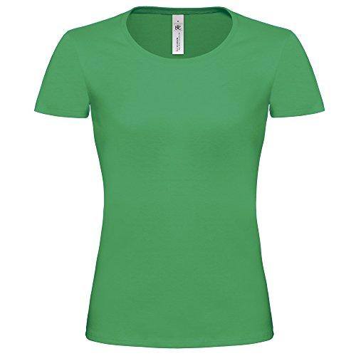 B&C Exact 190 - T-shirt à manches courtes - Femme Noir
