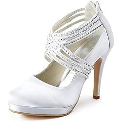 Zapatos Novia de tacón con brillantes - varios tonos a elegir