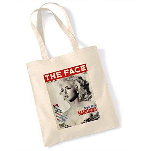 Preisvergleich Produktbild VintageMagazineCompany Madonna Das Gesicht Juni 1991 Tasche
