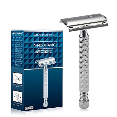 Maquinilla afeitar doble lado Ajustable doble filo