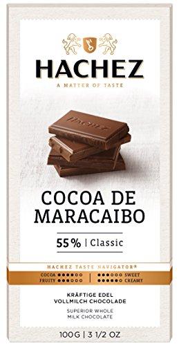Hachez Cocoa Tafel – Cocoa de Maracaibo Tafel Classic, 5er Pack (5 x 100 g)