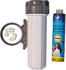 PK Aqua RO Pre - Filter Housing Set for Threaded Type Aquaguard Compatible Model Filters