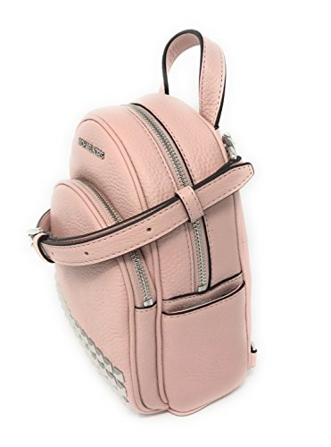 901b2081073f Michael Kors Women's Bag Studded Backpack Abbey Leather Mini Blossom Pink