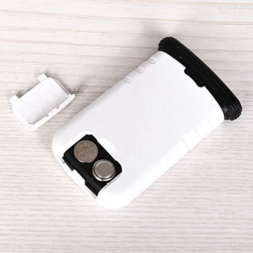 Lorsoul Ausziehbare LED-Licht-Taschen-Vergrößerungsglas 8X ABS Beweglich-Buch-Lese Schmuck...