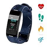 Sonkir Fitness Tracker HR, Montre d'activité avec Moniteur de fréquence Cardiaque,...