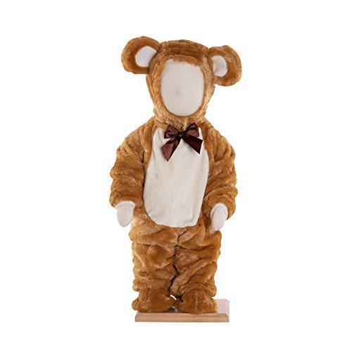 Kleid bis Teddy Bär Baby/Kleinkind Kostüm, - Teddy Baby Kostüm