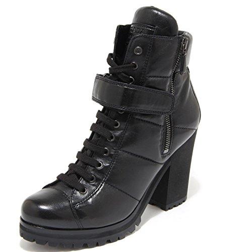 4535M tronchetti donna neri PRADA SPORT stivali scarpe women ankle boots shoes Nero