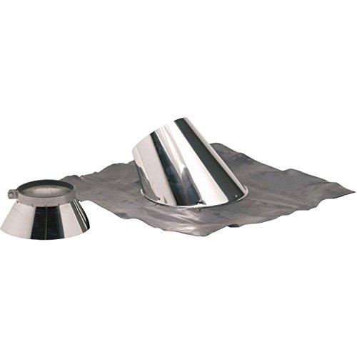 Solin 30 à 45° + plomb OPSINOX Inox diamètre : 153/200 Réf 015538