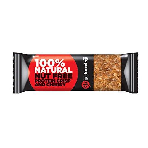 62g Protein (Getbuzzing Nut Free Kirsche Protein Bar 62g)