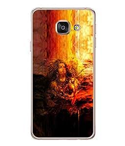 Fuson Designer Back Case Cover for Samsung Galaxy A5 (6) 2016 :: Samsung Galaxy A5 2016 Duos :: Samsung Galaxy A5 2016 A510F A510M A510Fd A5100 A510Y :: Samsung Galaxy A5 A510 2016 Edition (Lord Shiva Trinetra Bhagwan Destructor)