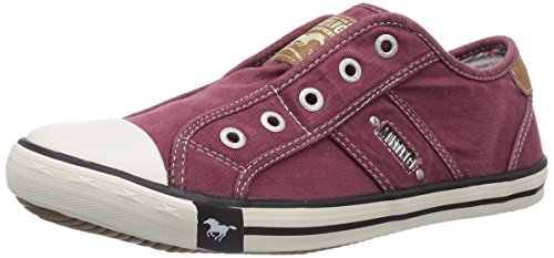 Mustang Damen 1099-401-55 Slipper, Rot (55 Bordeaux), 37 EU