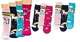 Kinder Socken 6 Paar Jungen oder Mädchen,Schadstoffgeprüfte Textilien nach Öko-Tex Standard 100 (39/42, Einhorn)