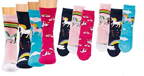 Kinder Socken 6 Paar Jungen oder Mädchen,Schadstoffgeprüfte Textilien nach Öko-Tex Standard 100...