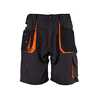 Emerton® - Shorts/kurzen Arbeitshosen - für den Sommer - Dunkelgrau EU58