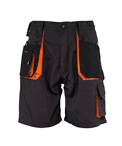 Stenso emerton - corti di lavoro/pantaloncini - per l'estate - uomo - grigio scuro eu48