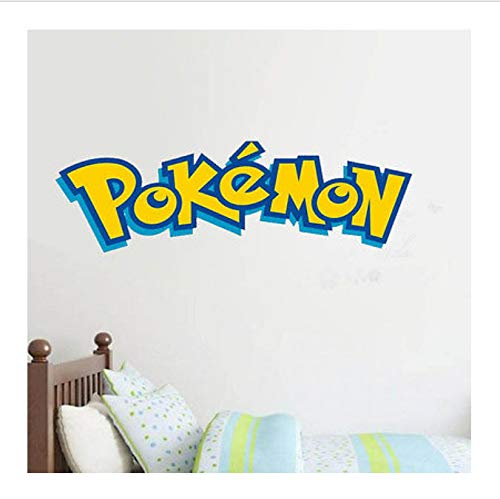 okemon Für Kinder Zimmer Home Dekorationen Vinyl DIY Wandbild Worte Kunst Raum Dekor Wand Aufkleber Kinder Geschenk 30x90cm ()