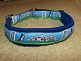 Hunde Halsband Border Collie und Schafe