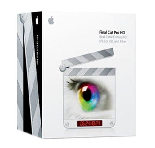 Apple Final Cut Pro HD EN CD Mac
