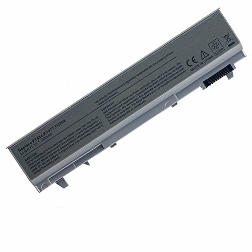 Tomkity 5200mAh Batteria per DELL Latitude E6400 E6410 E6500 E6510 precision M2400 M4400 M4500 Battery PT434 47Wh 6-CELL Notebook Laptop Battery P/N: PT434, PT435, PT436, PT437, KY265, KY266, KY268, FU268, FU274, FU571, MN632, MP303, MP307, NM631, NM633, W1193, KY477 C719R 312-0748 312-0917