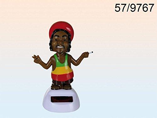 """Preisvergleich Produktbild Bewegliche Figur """"Rastafari"""" mit Solarzelle ~ LV 04/2016"""