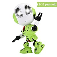 FUTURE ROBOT Recording Talking Robot for Kids Children Toys,Education Robots Toys LED Eyes&Touch control Best Birthday Gifts for 3 Year Old Up