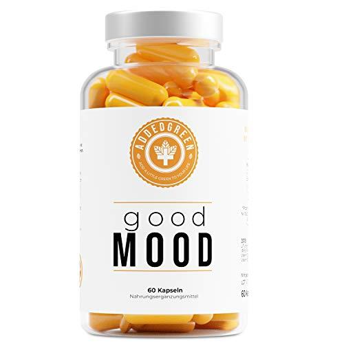 Natürlicher Stimmungsaufheller von ADDEDGREEN, mit Vitamin B12 und Eisen für mehr Antrieb und inneren Ausgleich*