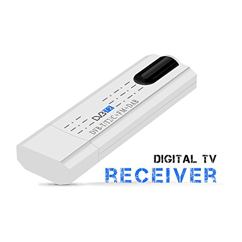USB 2.0 DVB-T/T2 UKW DVB-C TV-Tuner Stick USB Dongle für PC/Laptop Windows 7/8