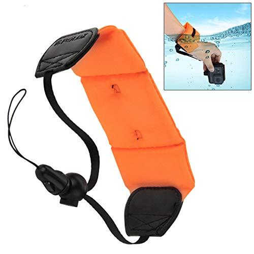 Egurs Floating Hand Handschlaufe Kamera Float für Unterwasserkamera GoPro Panasonic Lumix Nikon COOLPIX S33 Kameras