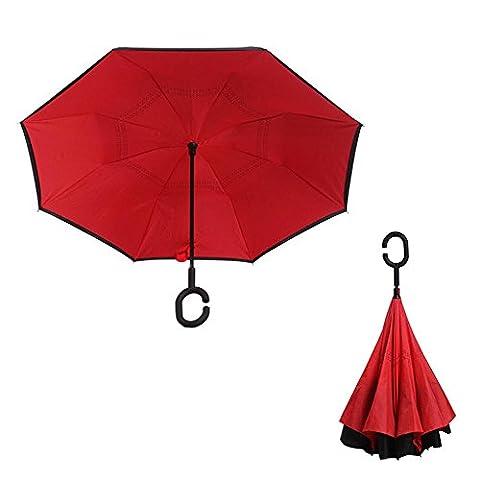 TJ Shade droit pôle double inversée parapluie