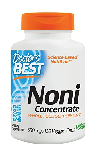 Doctor's Best, Noni Concentrate, 650mg, 120 Veg. Kapseln