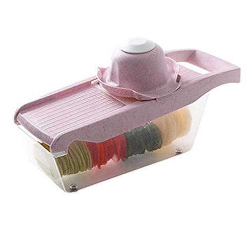 Kakiyi Multifunktionale Mandolinist Slicer Set Karotte Zwiebelschneider Kartoffel Chopper Julienne Cutter Haushalts Knoblauch Shredder -
