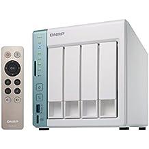 QNAP TS-451A-4G - NAS de escritorio bahía 4 caja con 4GB de RAM, color blanco