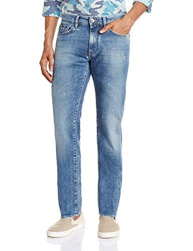 GAS Morris, Jeans Uomo, Blu, 32