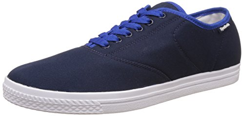 Reebok Classics Men's Classic Tenstall Collegiate Navy, Royal and White Sneakers - 9 UK/India (43 EU)(10 US)