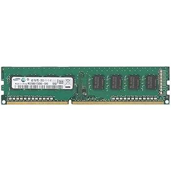 Samsung 4GB DDR3 módulo de - Memoria (4 GB, 1 x 4 GB, DDR3, 1600 MHz, 240-pin DIMM)