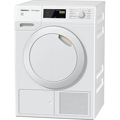 Miele TDB230WP 7kg Heat Pump Sensor Tumble Dryer in Lotus White A++ Rated