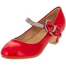 Amazon.it: Scarpe Bambina Con Tacco Rosso