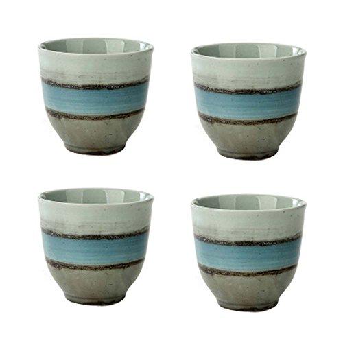 Lot de 4 porcelaine chinoise Teacups tasses en céramique thé petits Teacups grand cadeau [S]
