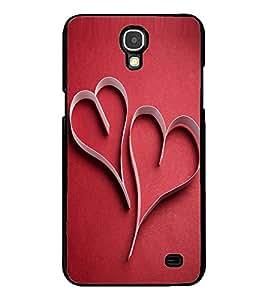 ColourCraft Love Hearts Design Back Case Cover for SAMSUNG GALAXY MEGA 2