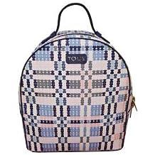 Tous 995800183, Bolso Mochila para Mujer, (Azul), 21x25x9 cm (W