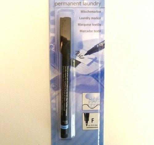 Wäsche schwarz permanent marker Stift, waschbar, langlebig, wasserfest, auf jeder Oberfläche