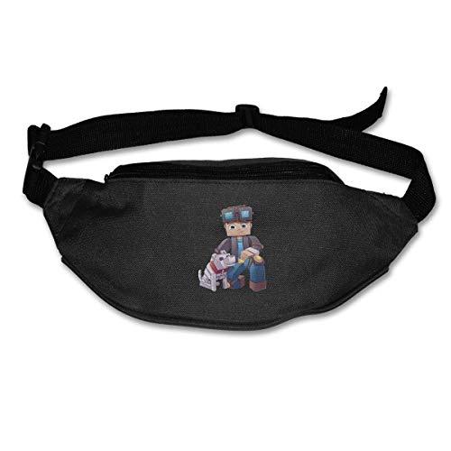 7c768c7808143 Fanny Pack for Women Men Dan-TDM Dog Waist Bag Pouch Travel Pocket Wallet  Bum