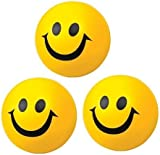 MHPLAYER® Pack of 3 Happy Ball