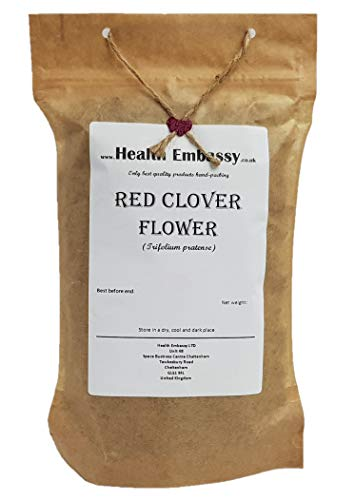 Fiore di Trifoglio Rosso (Trifolium pratense) 50g / Red Clover Flower 50g Health Embassy 100% Natural