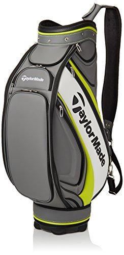 Taylormade Tour Staff Bolsa para Palos de Golf, Hombre, Gris / Lima /...
