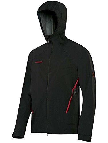 Mammut Herren Ultimate Alpine So Hooded Hardshelljacke black 0001