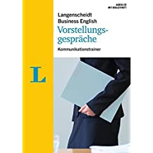 Langenscheidt Business English Vorstellungsgespräche - Audio-CD mit Begleitheft: Kommunikationstrainer (Langenscheidt Kommunikationstrainer Business English)