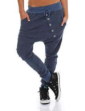 Moda Italy pantalones de chándal holgados pantalones novio de la mujer de moda pantalones deportivos pantalones...