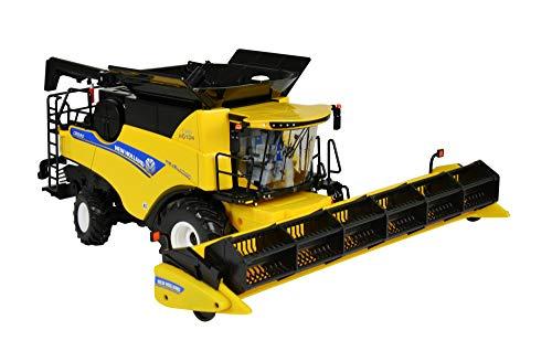 TOMY Britains - New Holland CR9.9 Mähdrescher - Spielzeug Traktor mit Mähwerk zum Verstellen - für Kinder ab 3 Jahre - Perfekt zum Spielen und Sammeln
